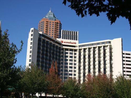 Portland Oregon Usa Marriott Hotel